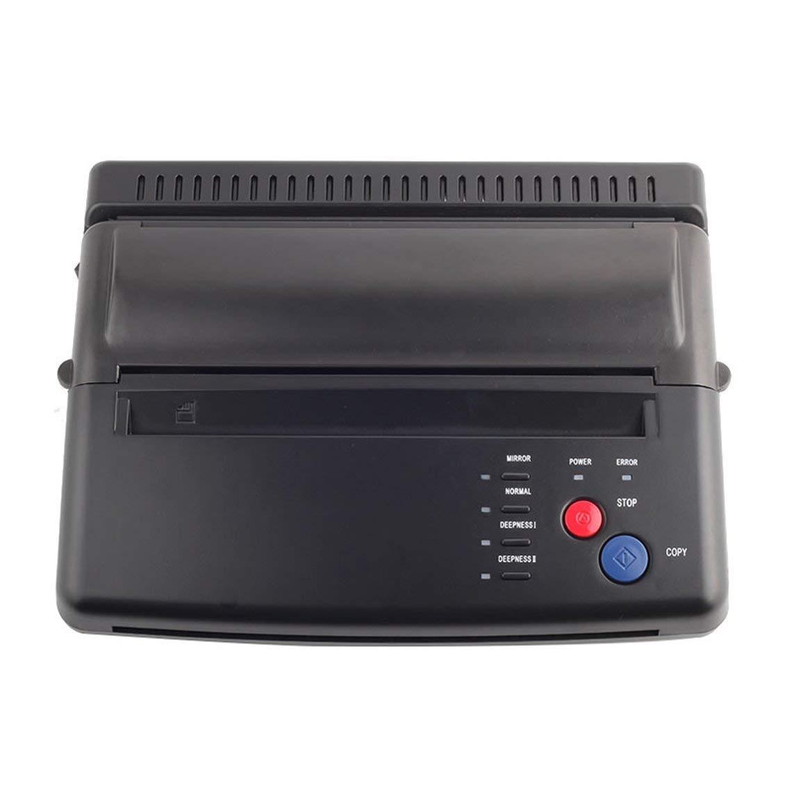 BYCDD Impresora Termica Tattoo, Dibujo Termal copiadora de ...