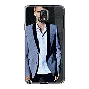 Shock-Absorbing Hard Phone Covers For Samsung Galaxy Note3 With Allow Personal Design HD Muse Band Pattern InesWeldon