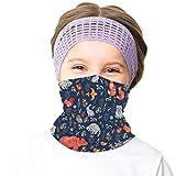 Boys Neck Warmer Casual Ski Face Mask Bandanas Neck Gaiter Handbands Balaclava for Girls