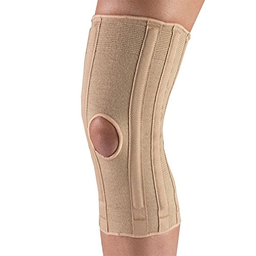 OTC Knee Support, Spiral Stays, Knit Elastic, X-Large
