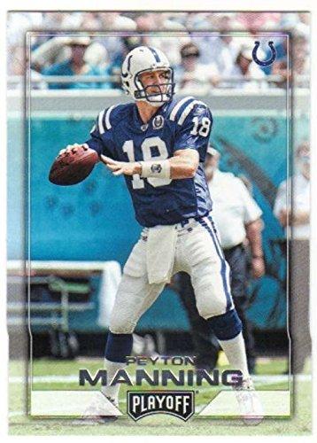 - 2016 Panini Playoff #189 Peyton Manning Indianapolis Colts NFL Football Trading Card