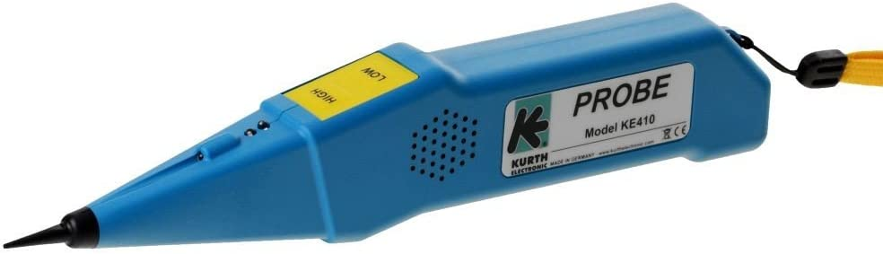 Kurth 24025 Probe 410 f/ür EASYTEST KE401//701//801 blau