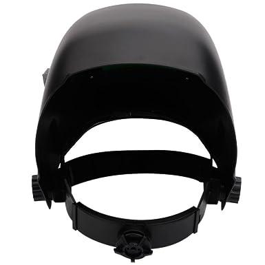 Dobo® Máscara casco de oscurecimiento automático para soldar con ajuste de sensibilidad y retraso de oscurecimiento y banda detrás de la nuca ajustable, ...