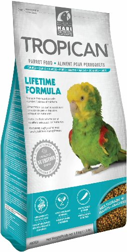 Hari Tropican Lifetime Formula Granules Parrot Food 4mm, 4lb -