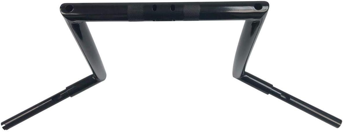 Chrome, 14 BBUT 12 14 16 Rise 1 1//4 APE Hanger Handlebar Handle Bar For Harley Dyna Softail Sportster Touring Road King Street Glide Electra Glide FLHR FLHX FLHT FHTR