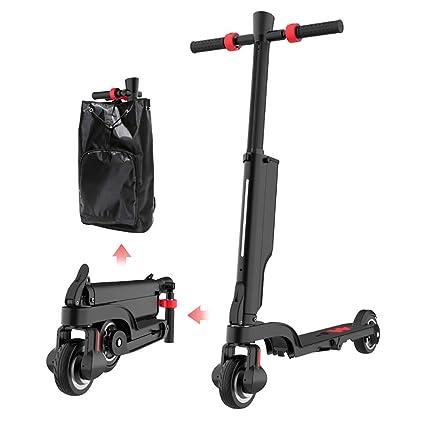 RYSD-MT Scooter eléctrico, 250W de Peso Ligero Plegable con ...