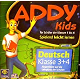 ADDY KIDS Deutsch, Klasse 3+4 (2 CDs), Spielend leicht lernen - für Schüler der Klassen 1 bis 4, Abgestimmt auf die Lehrpläne der Schulen