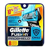 Proshield Men's Razor Blade Refills, 8 Count Proshield Chill