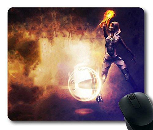 - Popular Mouse Pad with mass effect tali zorah energy light hood Non-Slip Neoprene Rubber Standard Size 9 Inch(220mm) X 7 Inch(180mm) X 1/8 Inch(3mm) Mousepads