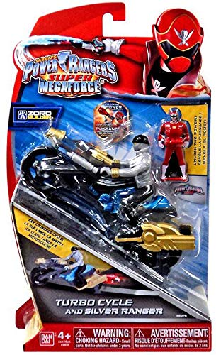 Power Rangers Super Megaforce - Turbo Cycle and 4