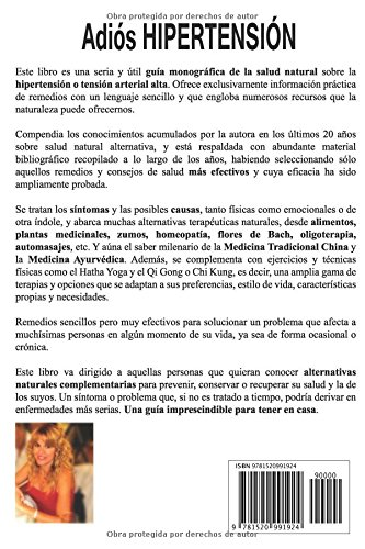 Adiós Hipertensión: Remedios Naturales y Terapias Alternativas (Spanish Edition): Maribel Melián: 9781520991924: Amazon.com: Books