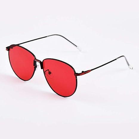 WOAIXI Gafas Sol,Gafas De Sol Deporte,Gafas De Sol Polarizadas Ciclismo Oval con Protección Uv400 para Hombres Y Mujeres De Rojo Si9070C3: Amazon.es: Deportes y aire libre