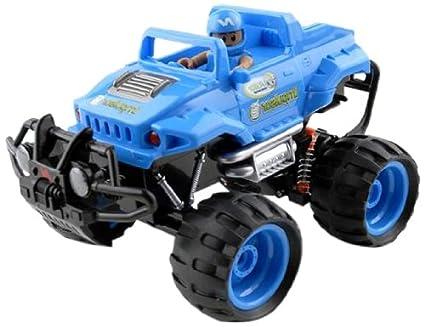 Amazon Com Ninco Kid Racers Build Your Own Impulsor Rc Car Blue