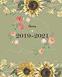 2019-2021 Planner: Sun Flower Cover for Monthly