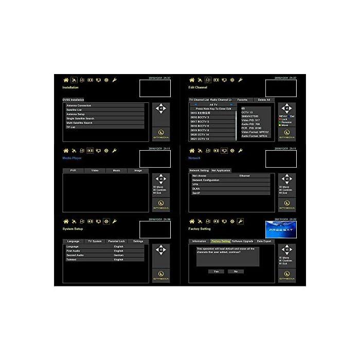 """51ikvym%2BjdL Haz clic aquí para comprobar si este producto es compatible con tu modelo 【Wi-Fi incorporado】 """"GTMEDIA V9 Super DVB S2 Decodificador satelital"""" tiene un Wi-Fi incorporado, por lo que no es necesario comprar un Wi-Fi externo. Soporte completo PowerVu, DRE y Biss clave, Soporte Unicable, Soporte XML EPG y Satellite EPG. Receptor HD PVR con WiFi Incorporado. admite de red Sharing y protocolo de Twin. disfruta de tus películas con Network Sharing. apoyo Predicción meteorológica, Google Map, jamendo, Yahoo News, imagen etc. Support, cámara IP, DLNA, SAT to IP."""