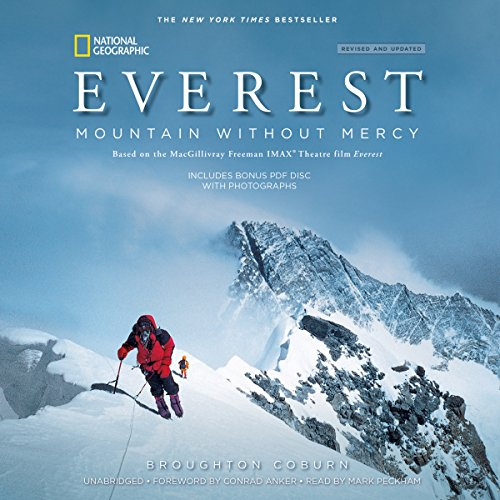 Everest, Revised & Updated Edition: Mountain Without Mercy Audiobook [Free Download by Trial] thumbnail