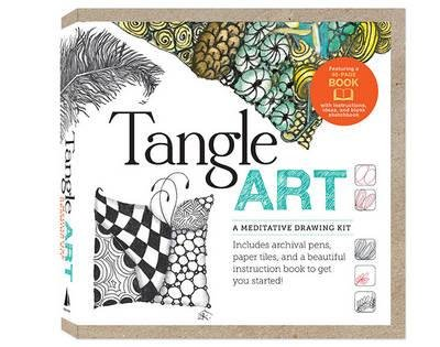 Read Online Tangle Art: A Meditative Drawing Kit : Includes Archival Pens, Paper Tiles, and a Beautiful Instruction Book to Get You Started!(Hardback) - 2013 Edition pdf
