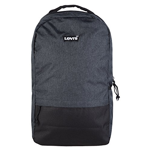 Levi's Men's Big Boys' Icon Backpack, Dark Grey Heather, One Size