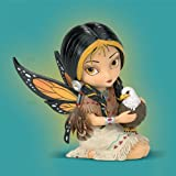 Jasmine Becket-Griffith Dreamsky, The Spirit Of Strength Eagle And Fairy Fantasy Art Figurine