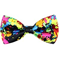 OCIA Pre-Tied Tuxedo Bowties Colorful Music Pattern Bow Ties for Mens & Boys