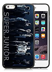 Super Junior Bonamana Black iPhone 6 Plus 5.5 inch TPU Cellphone Case Luxurious and Newest Design