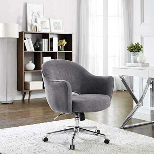 Serta Valetta Dovetail Gray Home Office Chair