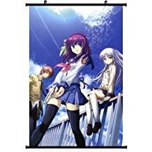 1 X Angel Beats! Anime Wall Scroll Poster (24''*35'') Support Customized