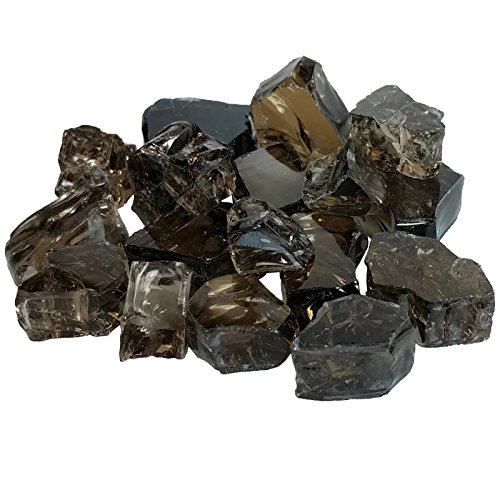 Midwest Hearth Rich Bronze Reflective Fire Pit Glass 1/2-Inch (10-Pound Jar)