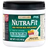 Fitness Labs NutraFit High-Protein Meal Replacement (Natural Vanilla, 5 Ounces)