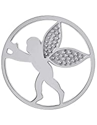 MS Koins Stainless Steel Angel Coin Fits Our Coin Locket System, 30mm Diameter