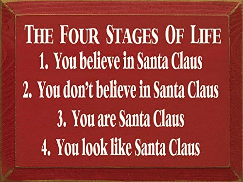 Funny Christmas Wooden Wall Plaque Sign I Told Santa I Wanted You