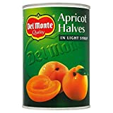 Del Monte Apricot Halves in Light Syrup (410g) - Pack of 6