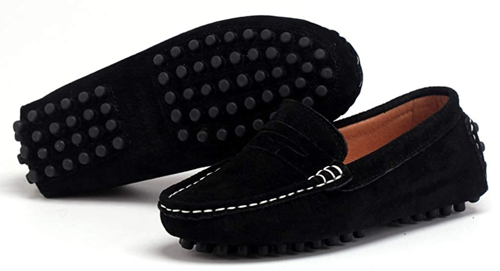 Toddler//Little Kid//Big Kid VECJUNIA Boys Girls Slip-On Loafer Shoes Non-Slip