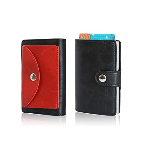 più recente 11250 73bba Porta carte di credito uomo automatico. Porta monete uomo ...