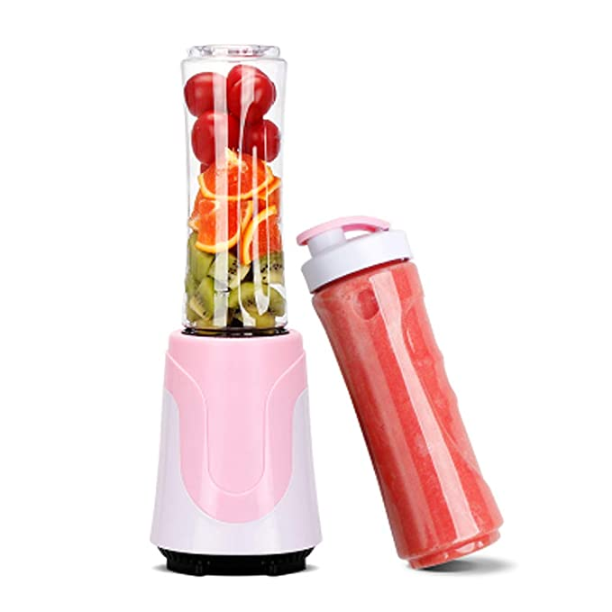 WGFGXQ Personal Juicer Carry Cups You,Pink,Doublecup
