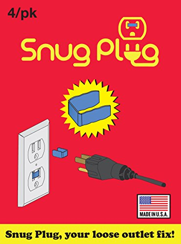 OUTLET - Snug Plug - Loose Outlet + Loose Plug + Plug - Your LOOSE outlet FIX - 8 Pack]()