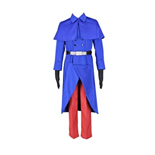 Dream2Reality Japanese Anime Hetalia: Axis Powers Cosplay Costume - France Uniform 1st Ver Kid Size Large