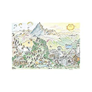 Akena Montagna Puzzle Fv2459