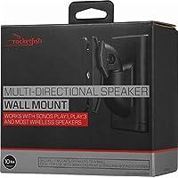 Rocketfish - Multi-Directional Speaker Wall Mount - Black