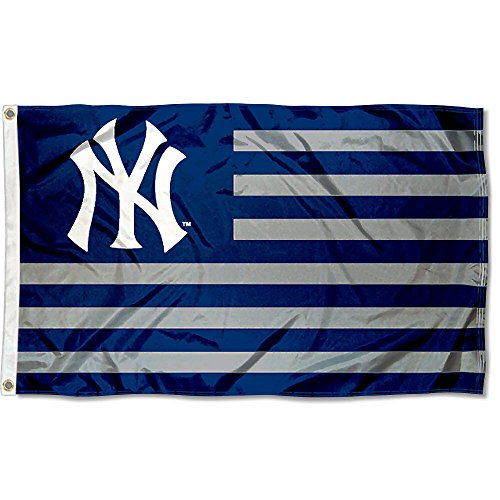 (WinCraft MLB New York Yankees Nation Flag 3x5 Banner)