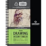 Canson Artist Series Cream Drawing Pad, 5.5