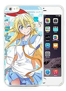 Beautiful Designed Cover Case For iPhone 6 Plus 5.5 Inch With Nisekoi Chitoge Kirisaki White Phone Case