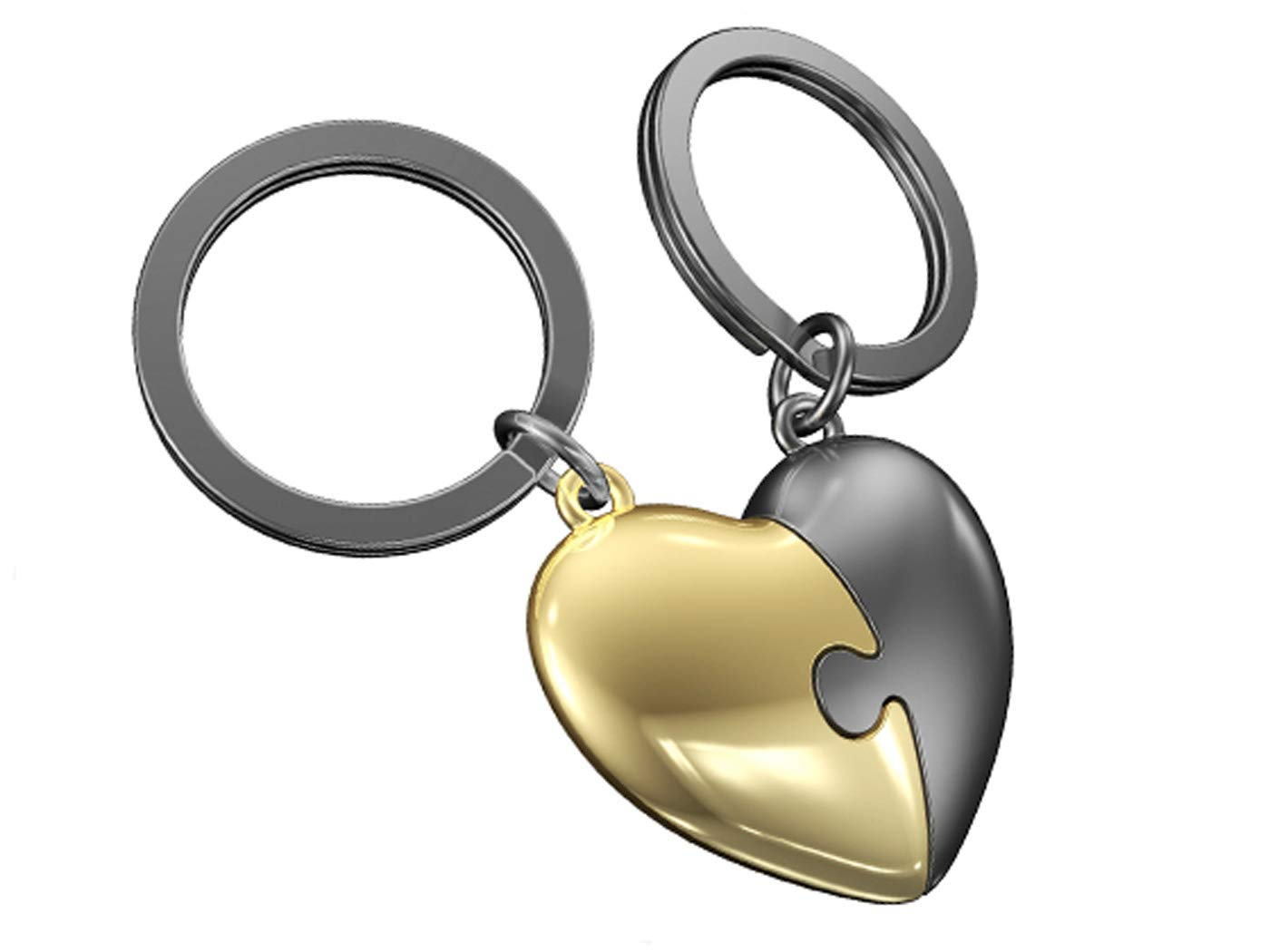Duo de porte-clef Coeur