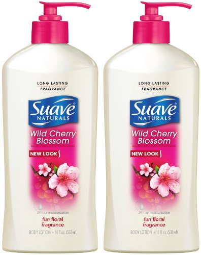 Suave Hand and Body Lotion - Wild Cherry Blossom - 18 oz (Cherry Blossom Hand Lotion)