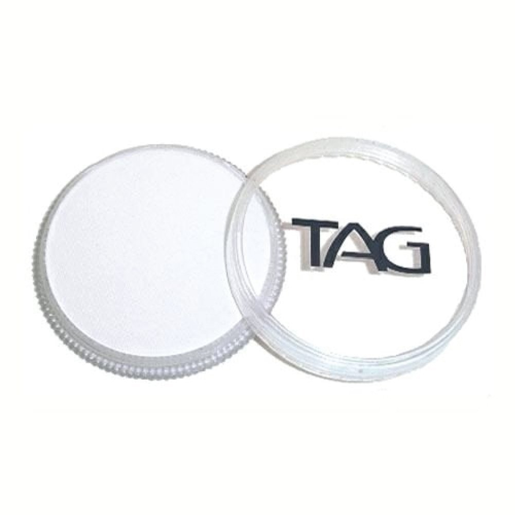 TAG Face Paints - White (32 gm) TAG Body Art R3201