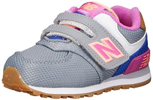 New Balance Jungen Nbkg574e9i Babyschuhe Grigio (Grey Pink)