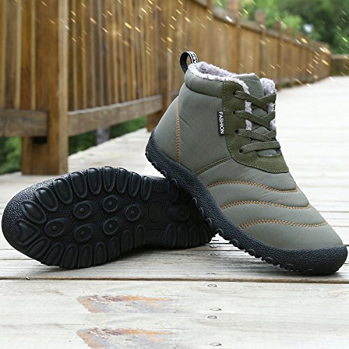 Outdoor Warm Hiking Green Army Shoes Women Dreamcity Boots Women's Snow Trekking Comfortable wqcaRXT