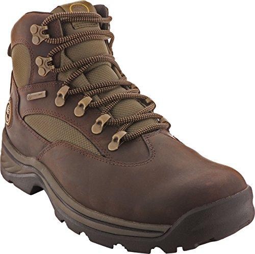 Timberland Men's Chocorua Trail Mid Waterproof, Brown/Green, 11.5 W US (Best Deal On Timberland Boots)