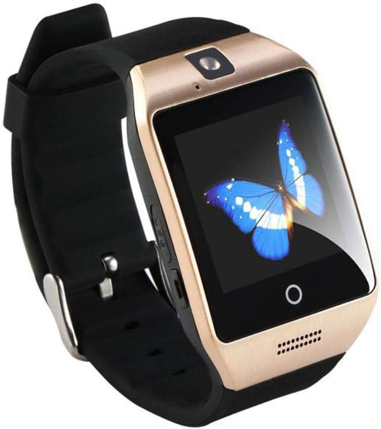 VECDY Smartwatch, 2019 Q18 Bluetooth Smart Watch gsm Cámara TF Tarjeta Teléfono Reloj de Pulsera para Android Regalos