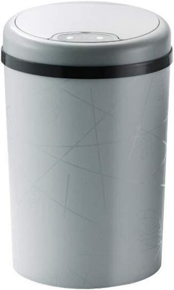 Perfttyy Rushuo-lajitong Kitchen Trash Can 11L/13L Automatic Sensor Dustbin Chic Sensor Trash Can Induction Waste Bin Unsounded Garbage Bag Container for Kitchen Bathroom